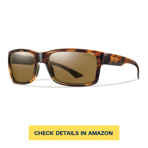 f85f8cc826e8 This pair of sunglasses has a vibrant frame design and a really effective  polarization that could protect your eyes from glare when you're out there  fishing ...