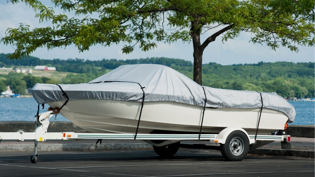 NEW VORTEX BLUE 20 FT Foot Ultra Pontoon Boat Cover w//Elastic Seam and Tie Downs