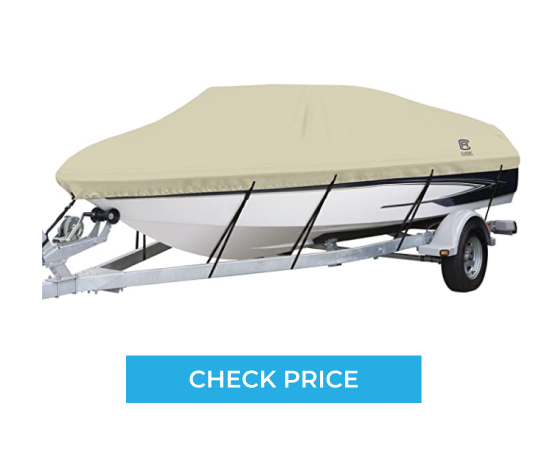 Classic Accessories Dry Guard Waterproof Boat Cover