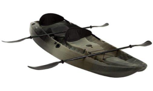 Lifetime Tandem Fishing Kayak with Paddles