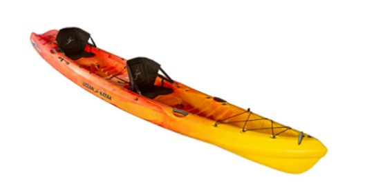Ocean Kayak Zest Two Expedition Tandem Sit-On-Top Kayak