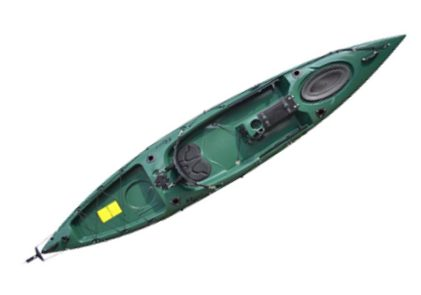Riot Kayaks Escape 12 Angler Sit-On-Top Flatwater Fishing Kayak