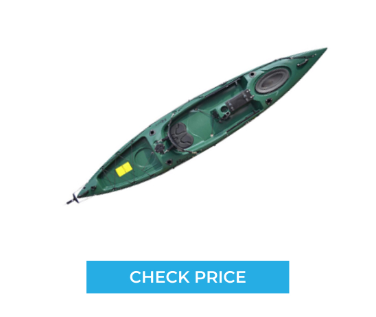 Check the Price of Riot Kayaks Escape 12 Angler Sit-On-Top Flatwater Fishing Kayak