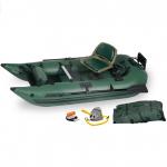 Sea Eagle 285 Inflatable Frameless Fishing Pontoon Boat