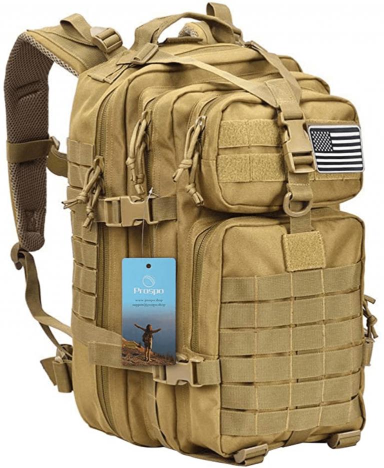 Prospo 40L Military Tactical Shoulder Backpack